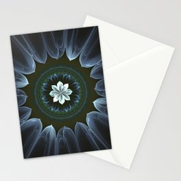 Blossom Within in White Stationery Cards