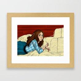 Hay Loft Framed Art Print