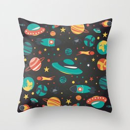 Space space baby Throw Pillow