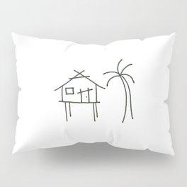 Little Island House Pillow Sham