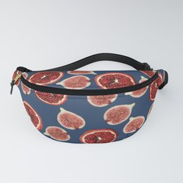 Figs - Pomegranate - blue Fanny Pack