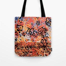 Shattering Sky Tote Bag