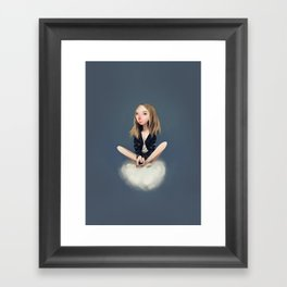 Stay Still Framed Art Print