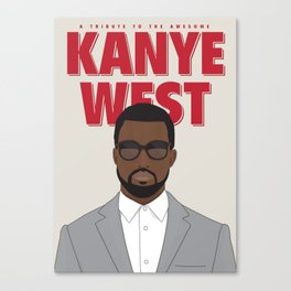 Tribute to Mr West Canvas Print