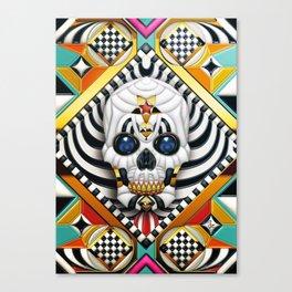 Skullture Canvas Print