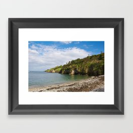 Howth cliffs Framed Art Print