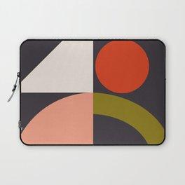 mid century bauhaus geometry square 1 Laptop Sleeve