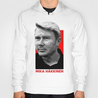 formula 1 Hoodies featuring Formula One - Mika Hakkinen by Vehicle