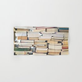 Books, Pages, Stories Hand & Bath Towel