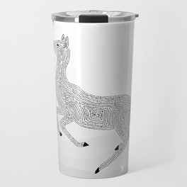 Young Deer in the Wild Travel Mug