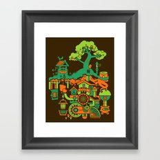 SUBterrian (Make A Wish) Framed Art Print