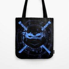 Leonardo Turtle Tote Bag
