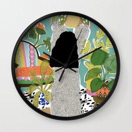 Jungle Queen Wall Clock