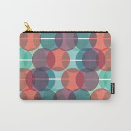circles half circles Carry-All Pouch