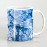 ice Mugs featuring Ice by digital2real