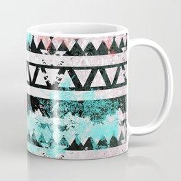 Black and White Aztec Pattern Coffee Mug