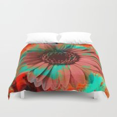 Lysergic Flower Duvet Cover