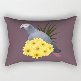 Timneh African Grey Rectangular Pillow