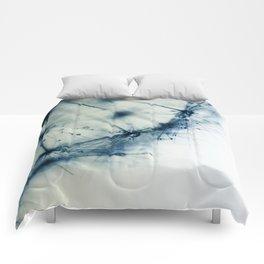dandelion blue IX Comforters