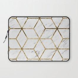 Gatsby golden marble Laptop Sleeve