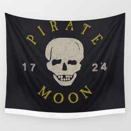 Pirate Moon Wall Tapestry