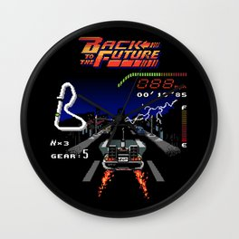 Back to the Videogame Wall Clock