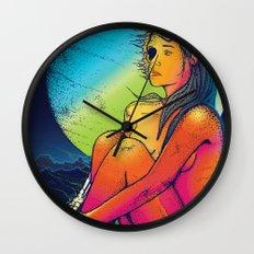 Neon Dead Wall Clock