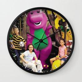 Demi and Sel #1 Wall Clock
