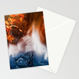 Stream of Fire & Ice Stationery Cards