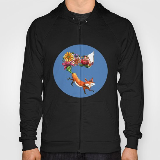 Hunt Flowers Not Foxes Two Hoody
