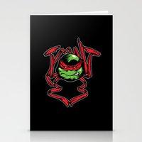 tmnt Stationery Cards featuring TMNT by Daniel Delgado