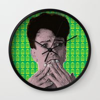 "rupaul Wall Clocks featuring The Birdcage - Agador ""Straight Looking"" by Binge Designs Homeware"