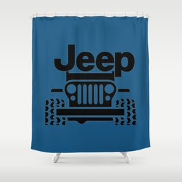 Jeep Classic Shower Curtain