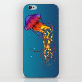 Jellyfish Red iPhone Skin