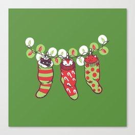 Jingle Meow Canvas Print