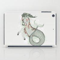 capricorn iPad Cases featuring Capricorn by Vibeke Koehler