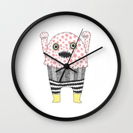 The Corner Monster Series Wall Clock