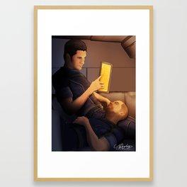 Nous Deux Framed Art Print