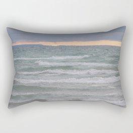 Georgian Bay Sunset Rectangular Pillow