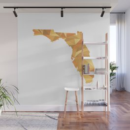 Florida Pattern Map Art Wall Mural