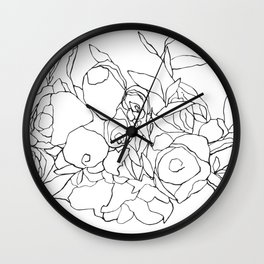 Flower Bouquet_1 Wall Clock