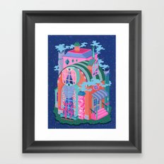 The Seeing House Framed Art Print
