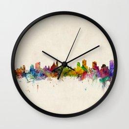 Ottawa Canada Skyline Wall Clock