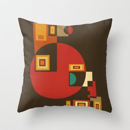 Colorplay G. 4 Throw Pillow
