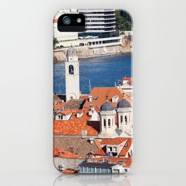 Dubrovnik Cityscape iPhone Case