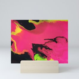 Cosmic Cascade Mini Art Print