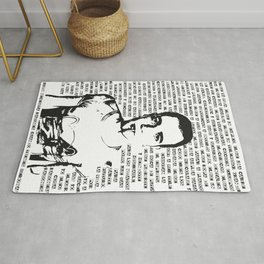 Trainspotting Rug