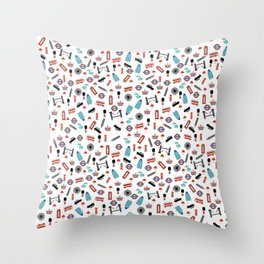 London Icons Throw Pillow