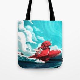 Porco Rosso Tote Bag