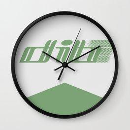 Drift team shirt Wall Clock